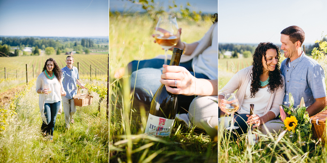 Bree+Tyson: Dundee, OR {Engagement Photography}